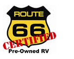 Certified Pre-Owned RVs in California