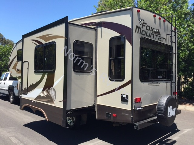 Lastest Used 2016 Northwood Manufacturing Fox Mountain 235RLS Fifth Wheel For Sale | Normu2019s RV Inc. In ...