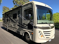 Used 2017 Fleetwood Flair 31B Class A Bunkhouse
