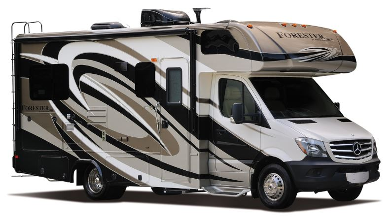 Class c diesel motorhome rental forester slideout san diego for Mercedes benz rv rentals