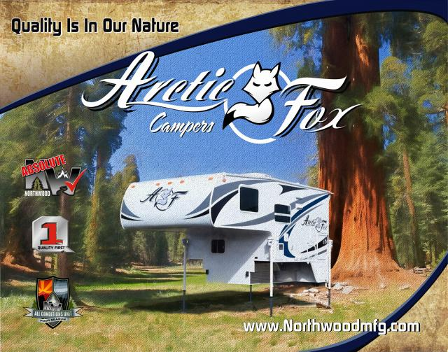 Arctic Fox Truck Campers