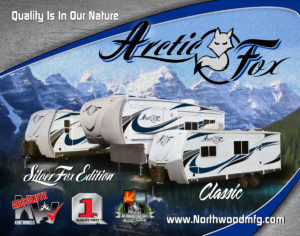 Arctic Fox Travel Trailers and Fifth Wheel Trailers