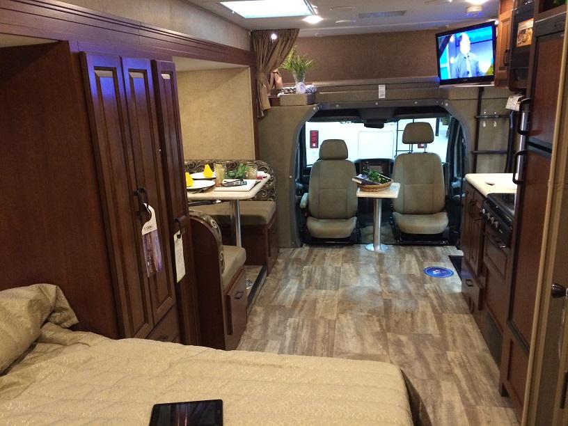 class c diesel motorhome rental