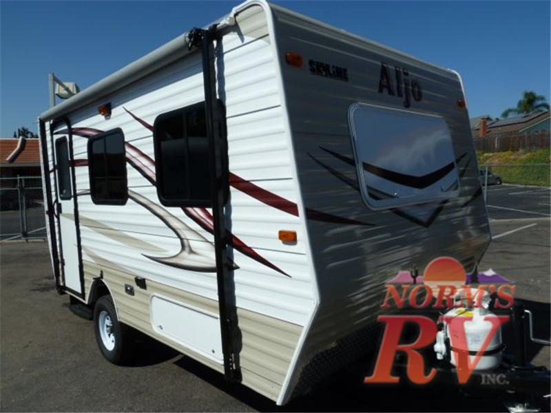 USED 2012 Skyline Nomad 162 Travel Trailer Stock # 10324