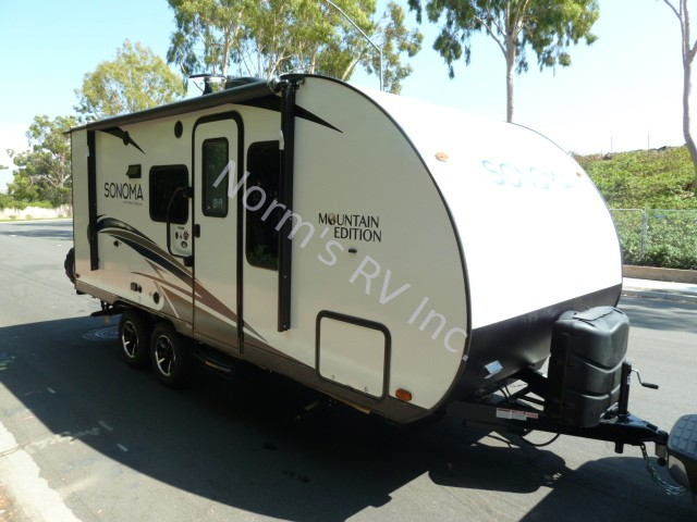 New 2019 Forest River Sonoma 190mb Travel Trailer For Sale